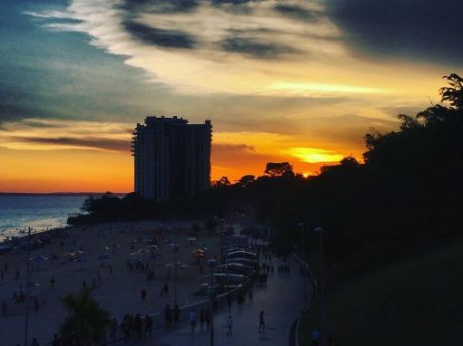 Pôr do Sol em Manaus