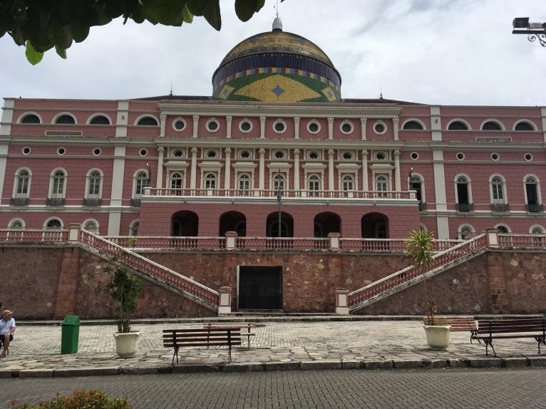 Teatro Amazonas - Cúpula