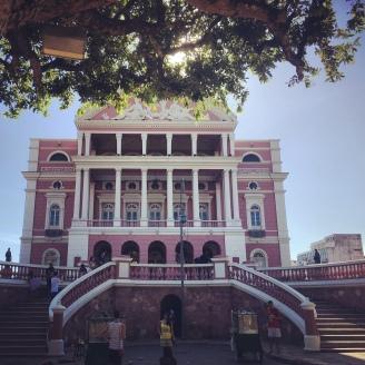 Teatro Amazonas Frente