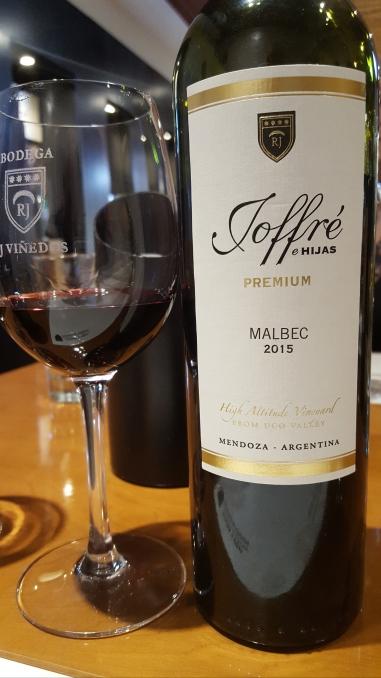 Joffre e Hijas Malbec Premium 2015