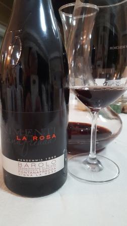 La Rosa Barolo 1999