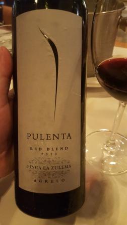 Pulenta Red Blend 2013