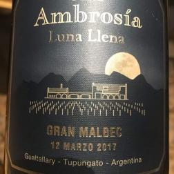 Luna Llena Gran Malbec 2017