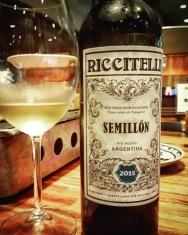 Riccitelli Semillon 2015