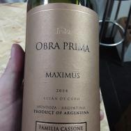Maximus Obra Prima 2014