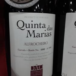 Quinta das Marias Alfrocheiro 2015