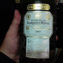 Gran Marques de Riscal 2007