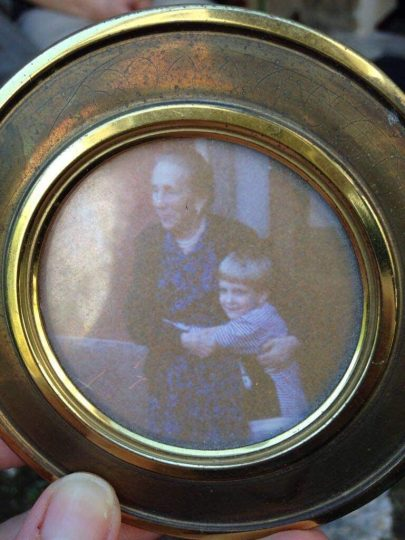 Ana e Zia em Lucca