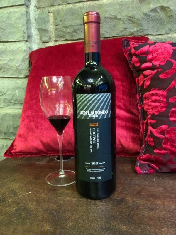 Vinho brasileiro Don Laurindo Malbec