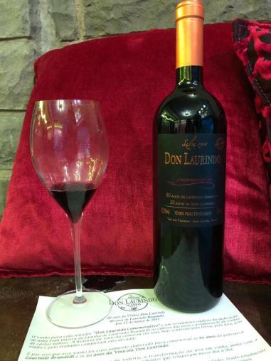 Vinho Comemorativo Don Laurindo