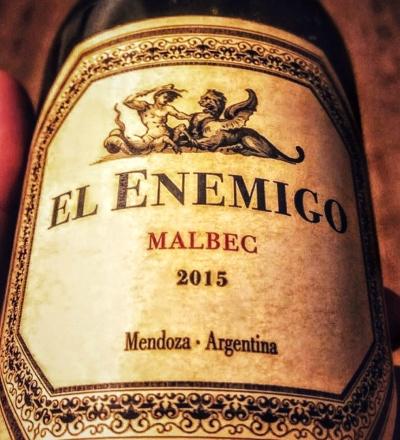 El Enemigo Malbec 2015