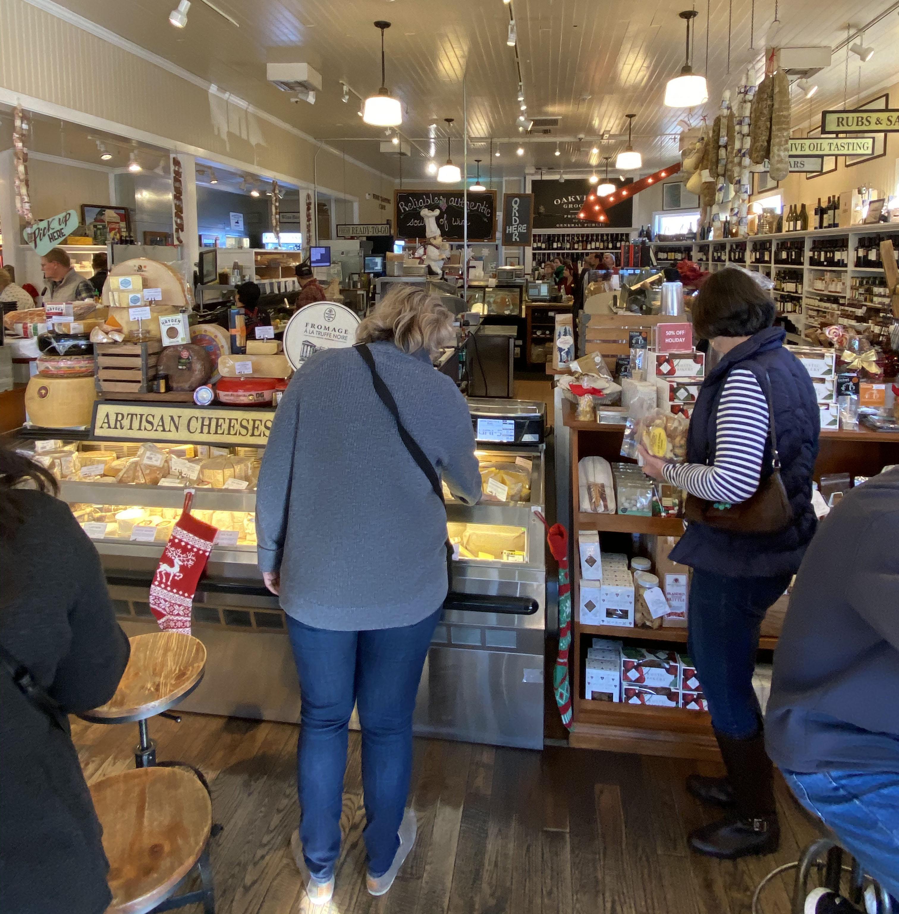 Oakville Grocery queijos Napa