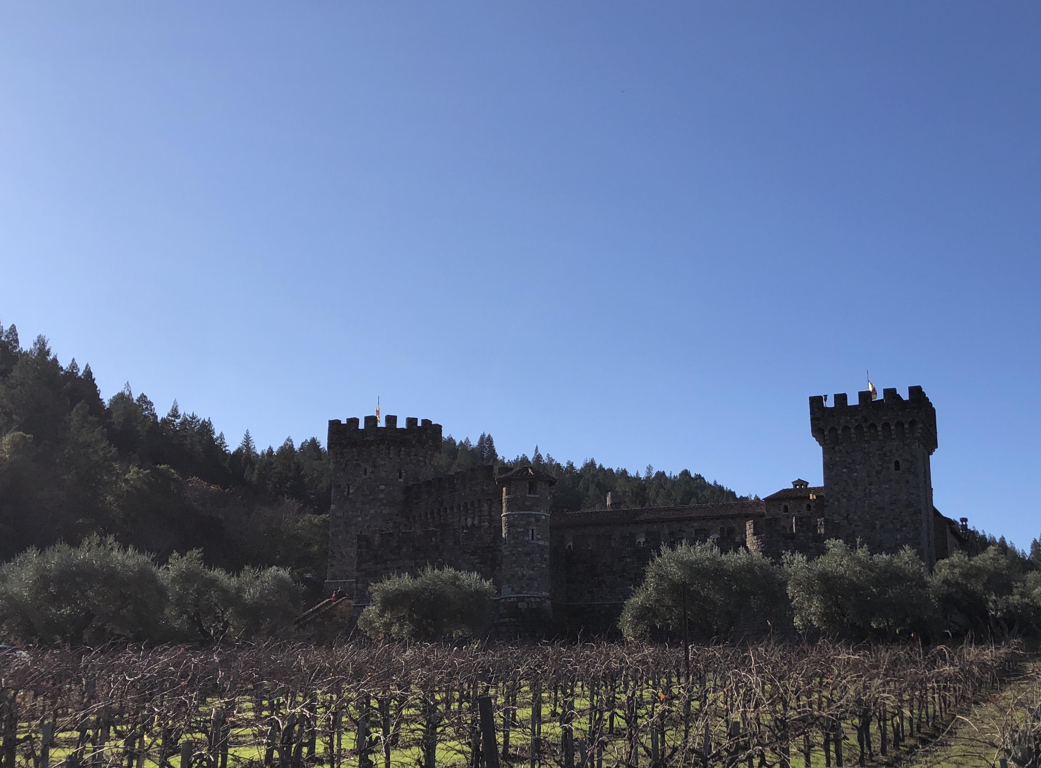 Napa Valley Castello di Amorosa