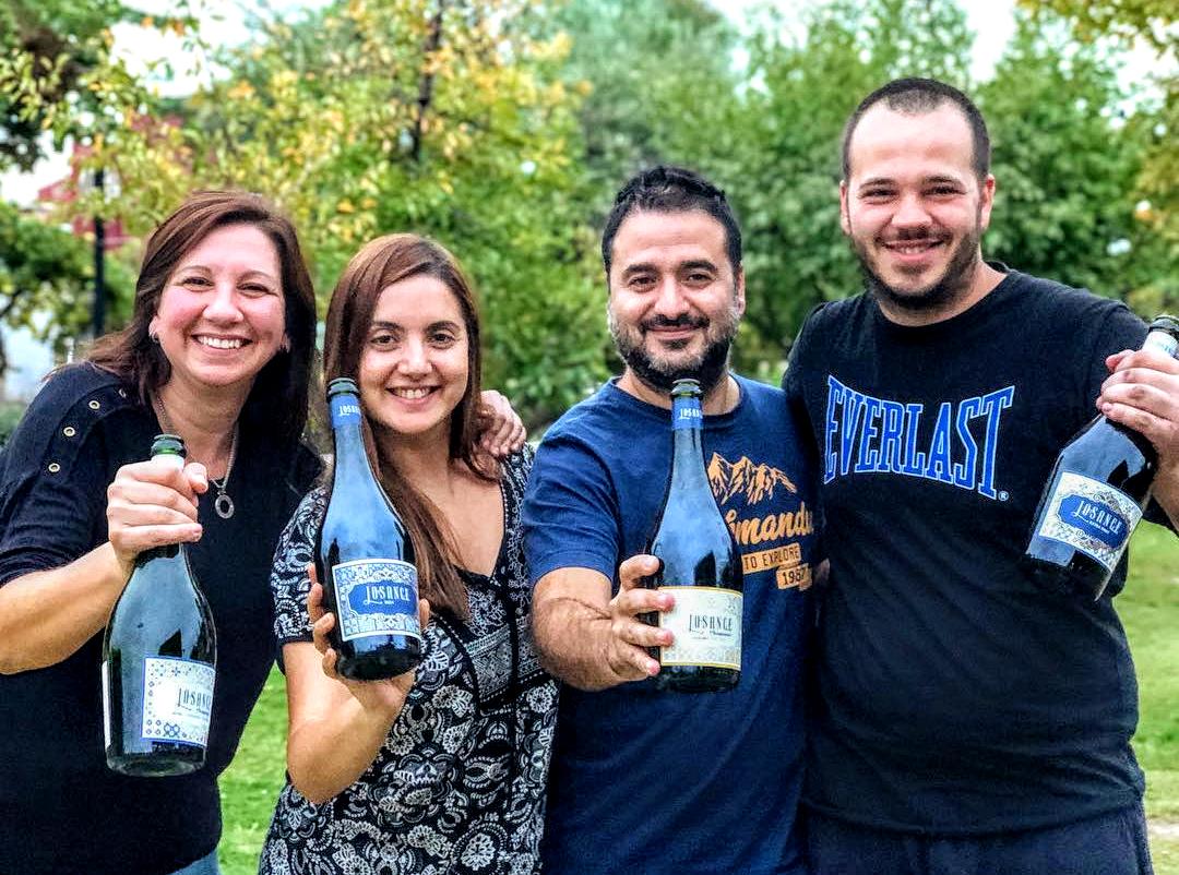 1- Maria, Lilia, Pablo y Gianluca Sance