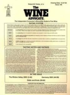 The Wine Advocate Rating System