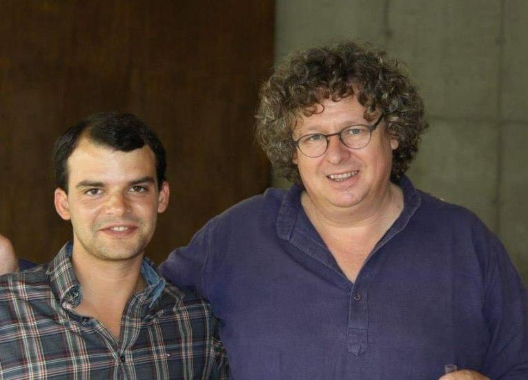 Carlos Raposo e Dirk Niepoort